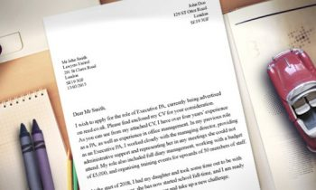 How to write a good cover letter?